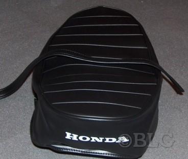 Selle moto honda 125 custom id e d 39 image de moto for Housse moto custom